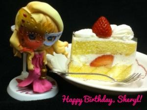 Happy birthday, Sheryl Nome~<3